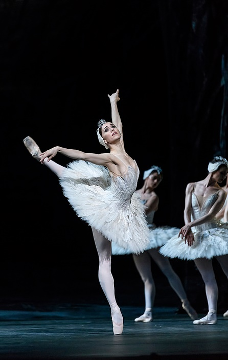 The Royal Ballet's Swan Lake, staged by Liam ScarlettMarianela Nuñez as Odile, © 2018 ROHPhotograph: Bill Cooper