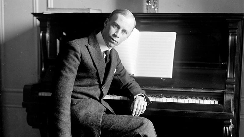 Sergei Prokofiev (1891-1953)Photograph: Library of Congress, Prints & Photographs Division