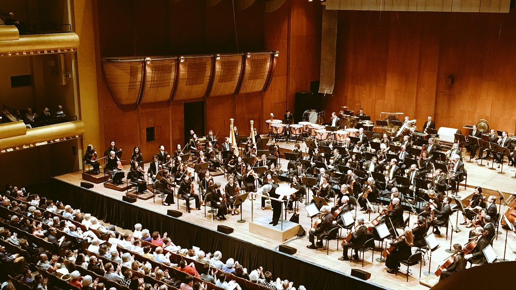 New York Philharmonic – Semyon Bychkov conducts Berio's Sinfonia & Strauss's Alpine SymphonyPhotograph:  twitter @NYPhil
