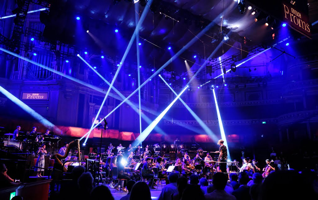'Pioneers of Sound', the first Late Night Prom of the 2018 BBC Proms, at the Royal Albert HallPhotograph: Sarah Jeynes / BBC