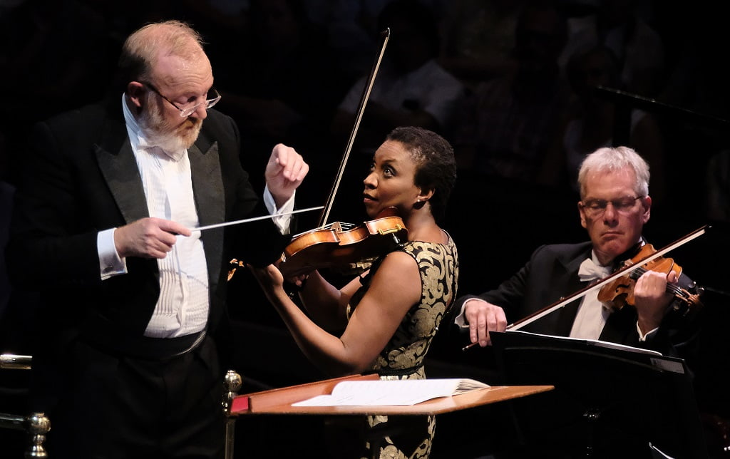 Works by Vaughan Williams, Parry and Holst performed by the BBC National Chorus of Wales and BBC National Orchestra of Wales under conductor Martyn Brabbins, alongside Francesca Chiejina, Tai Murray and Ashley Riches at the Royal Albert HallPhotograph: Mark Allan / BBC