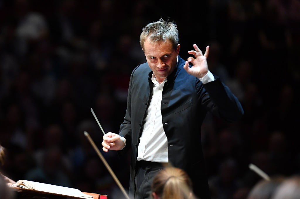 Prom 62: Royal Liverpool Philharmonic Orchestra with conductor Vasily Petrenko, at BBC Proms 2018Photograph: Chris Christodoulou / BBC