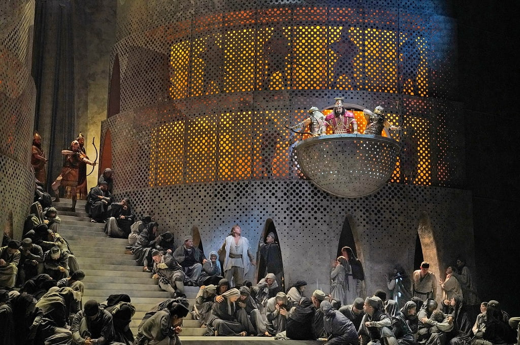 The Metropolitan Opera's new production of Saint-Saëns's Samson et DalilaPhotograph: Ken Howard