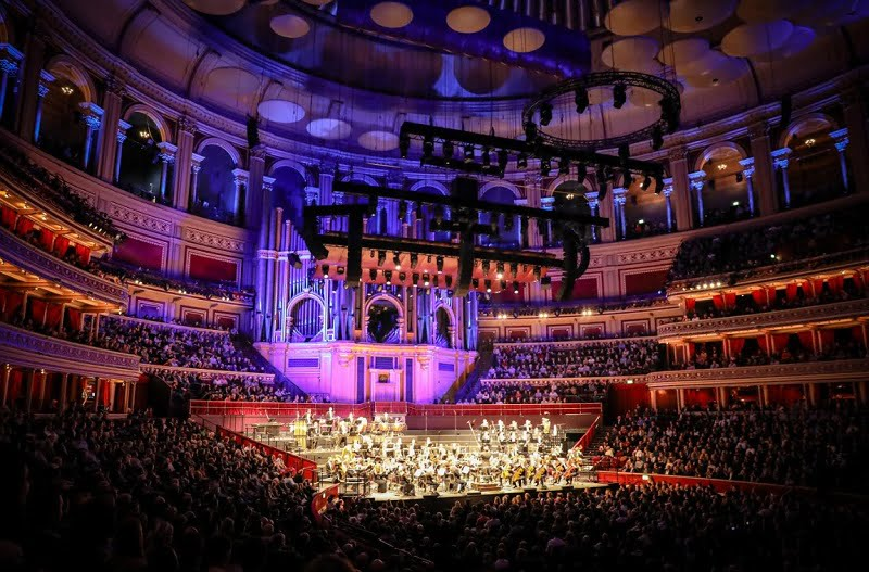 Dirk Brossé conducts at Royal Albert Hall – A Celebration of John Williams's Film MusicPhotograph: Christie Goodwin