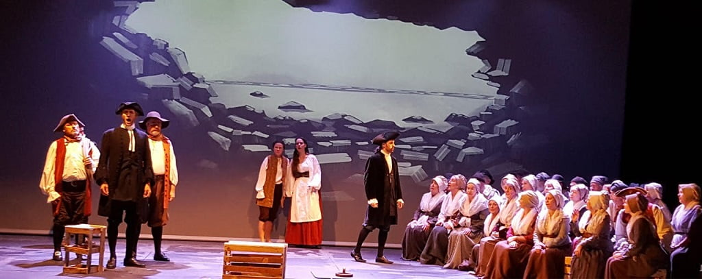 Arcadian Opera at Stowe School – Ethel Smyth's The WreckersPhotograph: Arcadian Opera