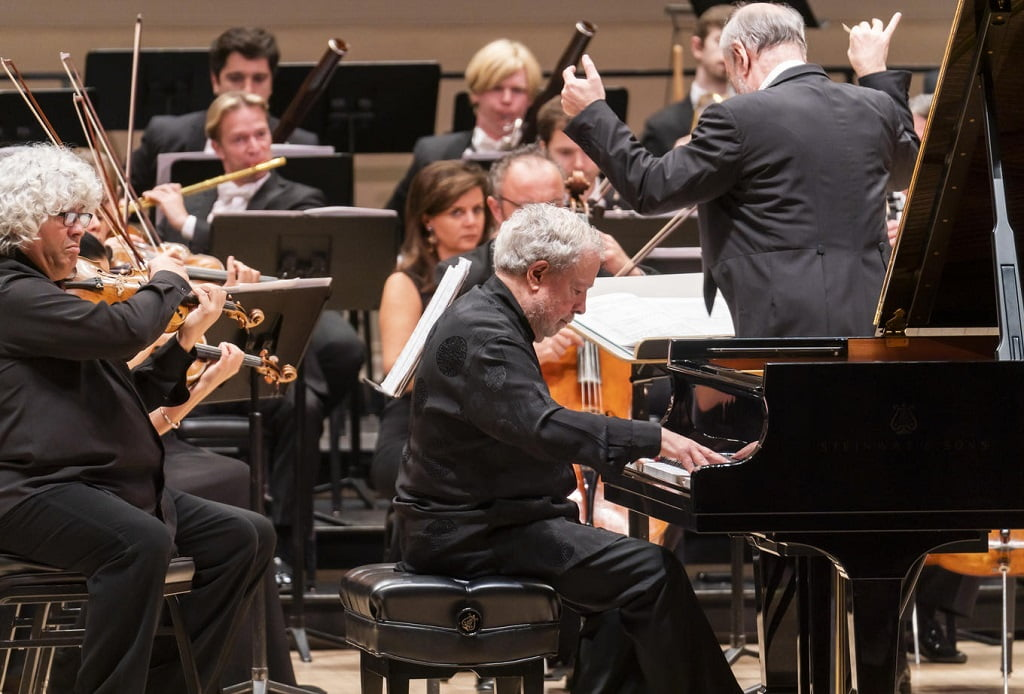 Mariinsky Orchestra & Valery Gergiev at Carnegie Hall, with Nelson FreirePhotograph: Chris Lee