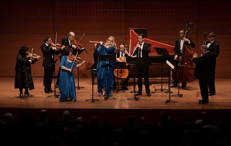 Brandenburg Concertos concert at Alice Tully Hall performed by Chamber Music Society of Lincoln CenterPhotograph: Tristan Cook