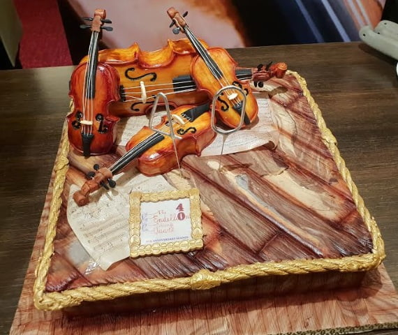 The Birthday Cake for the Endellion String Quartet