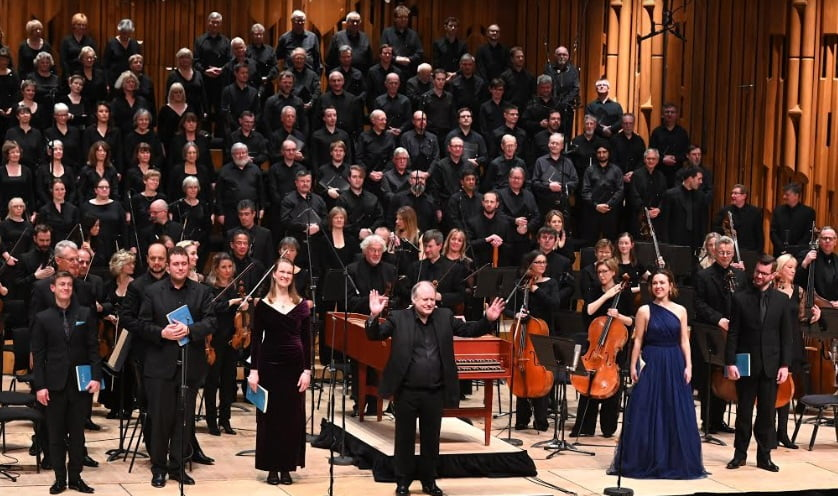 BBC Symphony Orchestra & Chorus with John Butt conductor at Barbican CentrePhotograph: Mark Allan