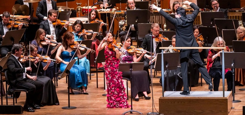 New York Philharmonic / Kahchun Wong – Lunar New Year ConcertYear of the PigPhotograph: twitter @nyphil