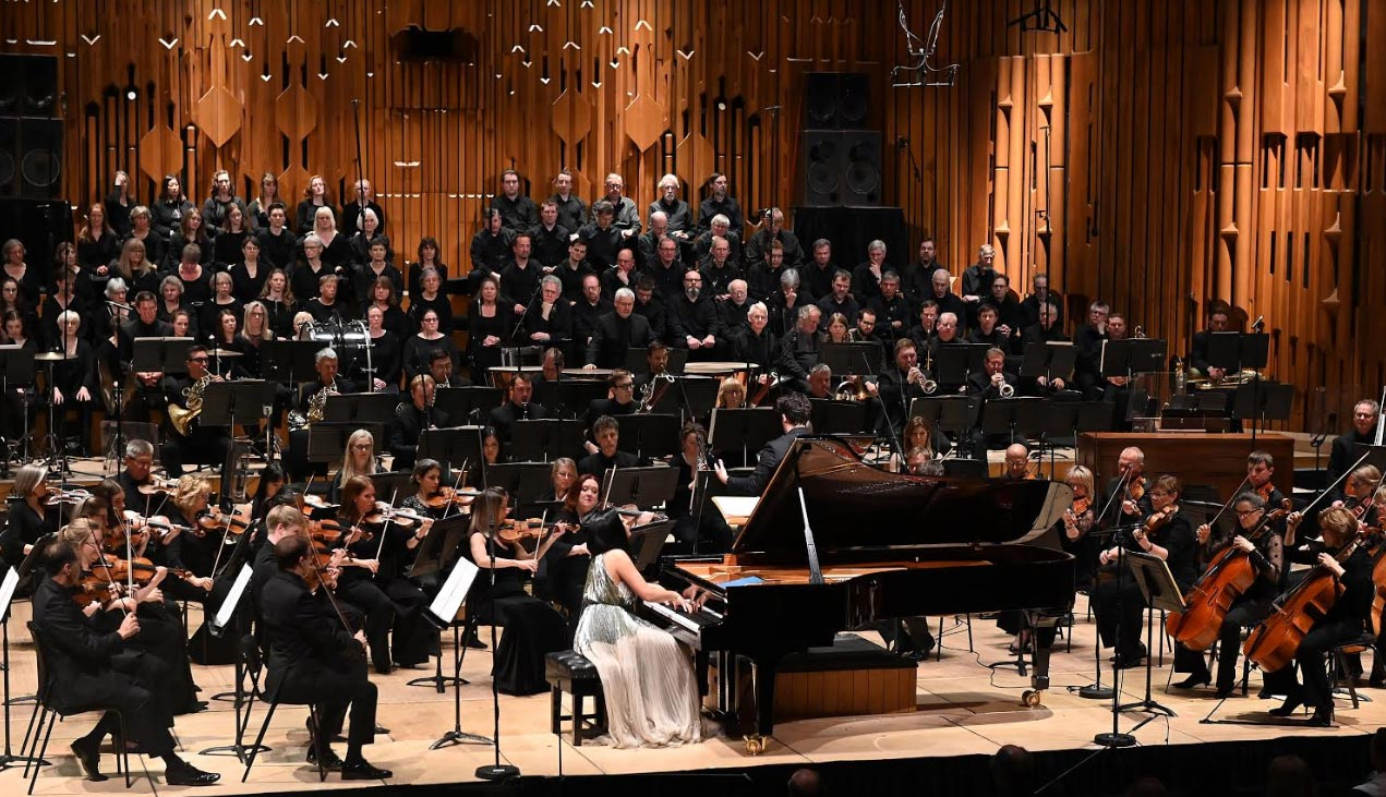 BBC Symphony Orchestra Total Immersion: Lili and Nadia Boulanger Alexandra Dariescu (piano) Photograph: Mark Allan / BBC