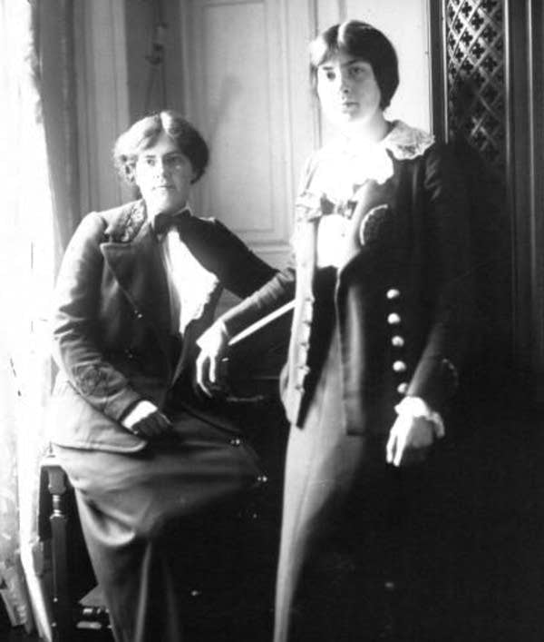 Lili and Nadia Boulanger in 1913