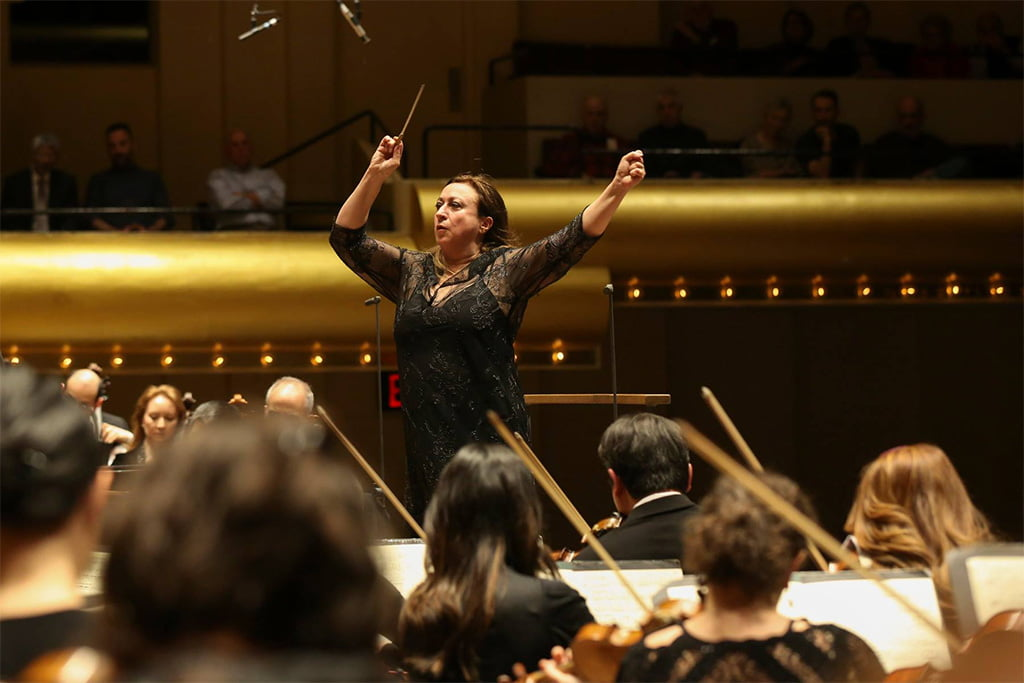 Simone Young conducts the New York PhilharmonicPhotograph: Caitlin Ochs / New York Philharmonic