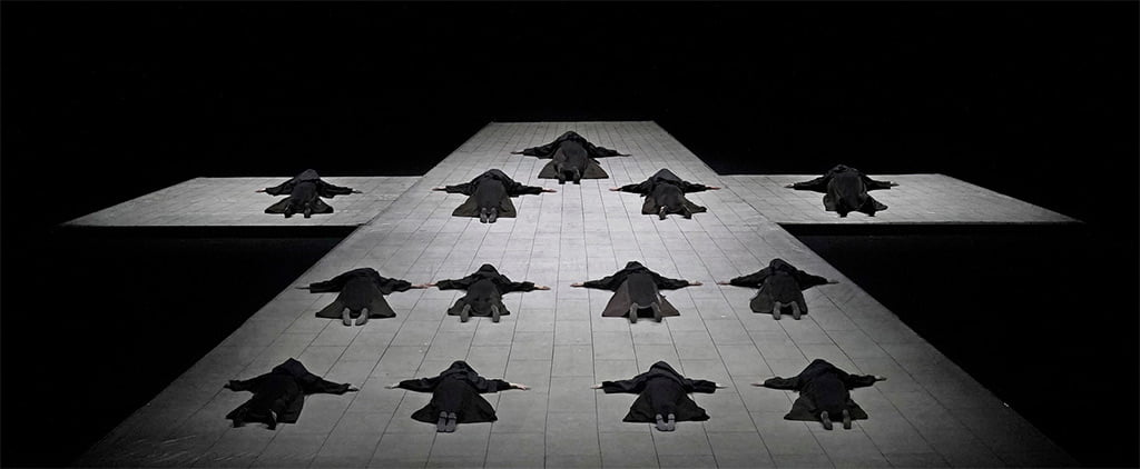 The opening scene of Poulenc's Dialogues des Carmélites Photograph: Ken Howard/Met Opera