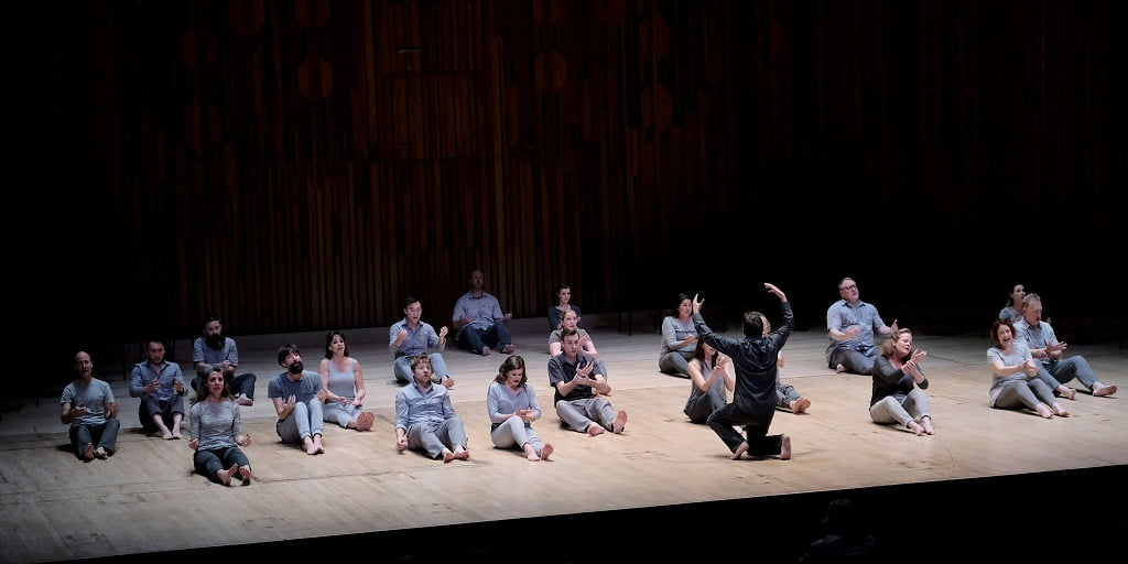 Los Angeles Master Chorale conducted by Grant Gershon in Barbican HallPhotograph: Tom Howard / Barbican Centre