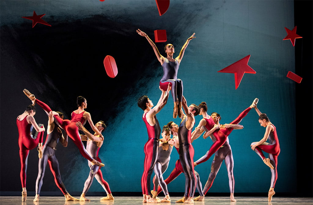 San Francisco Ballet in Piano Concerto #1Photograph: © Erik Tomasson