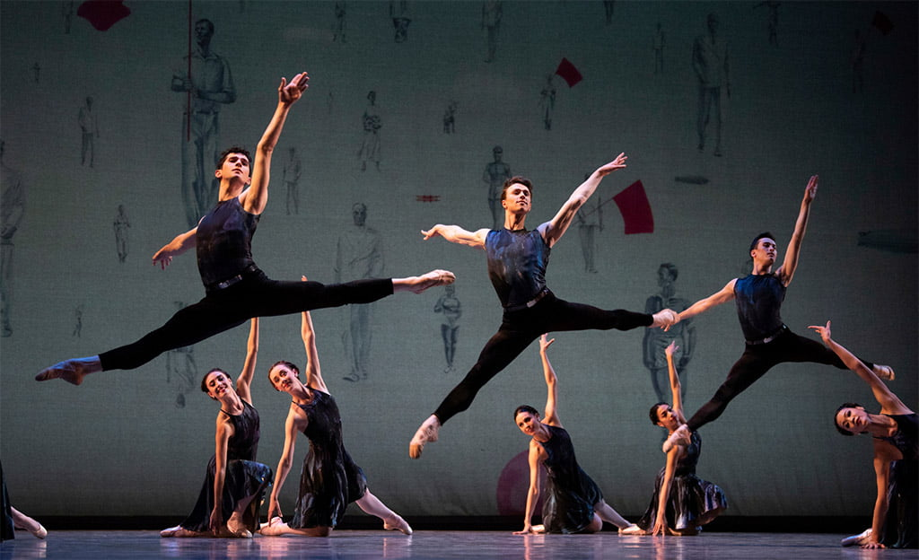 San Francisco Ballet in Symphony #9Photograph: © Erik Tomasson