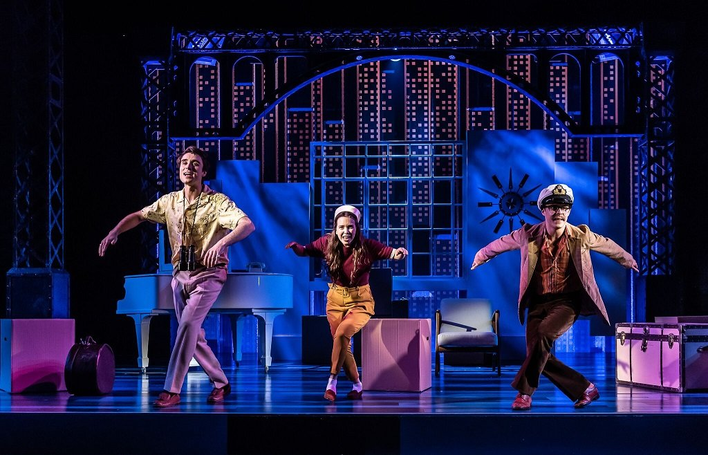 Stephen Sondheim's Merrily We Roll Along at Guildhall School of Music & DramaPhotograph: Clive Barda