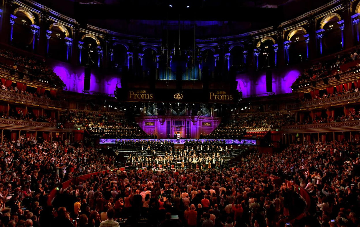 First Night of the BBC Proms 2019 – Karina Canellakis conducts BBC Singers, Symphony Chorus & Symphony Orchestra – Zosha Di Castri commission, Dvořák's Golden Spinning Wheel, Janáček's Glagolitic MassPhotograph: Chris Christodoulou / BBC