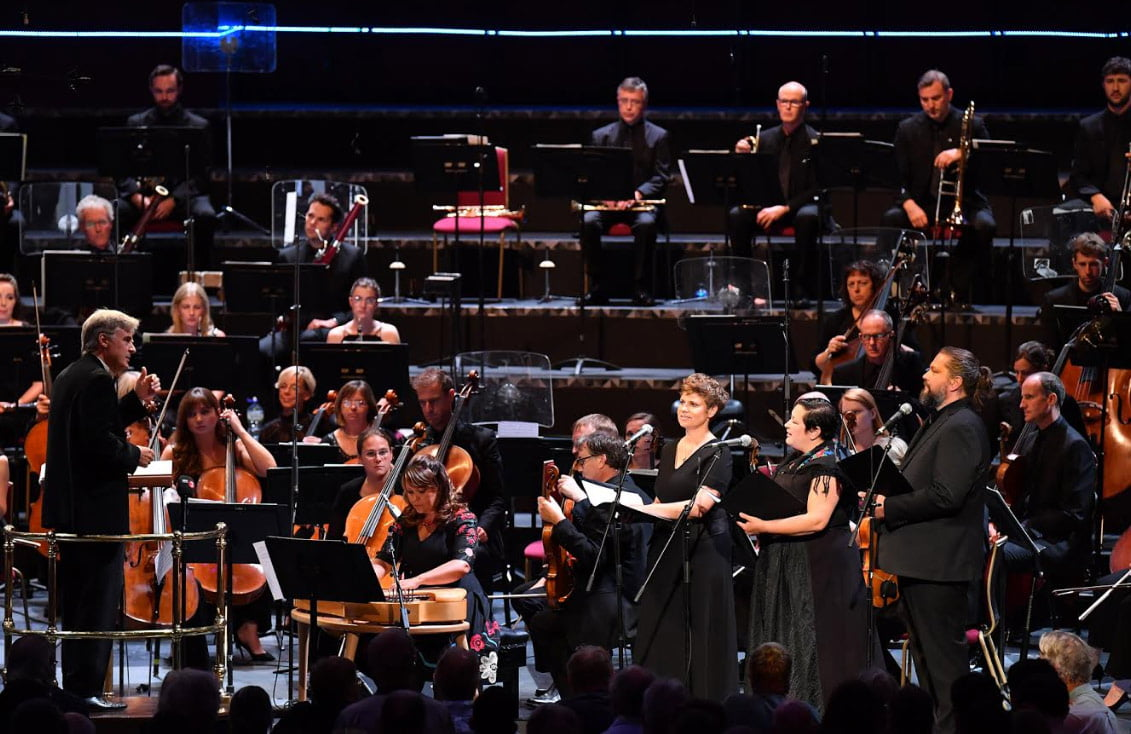 BBC Proms 2019's Prom 20Thomas Dausgaard and the BBC Scottish Symphony Orchestra play a concert based around Jean SibeliusPhotograph: Chris Christodoulou / BBC