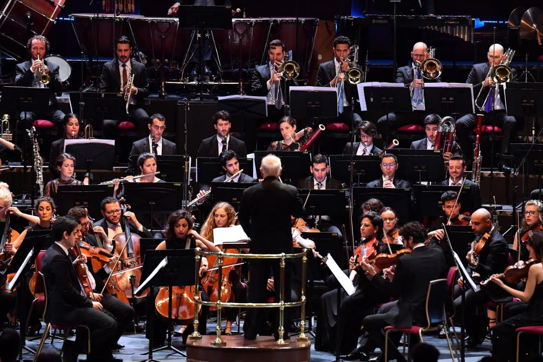 BBC Proms 2019's Prom 34West-Eastern Divan Orchestra conducted by Daniel BarenboimPhotograph: Chris Christodoulou / BBC