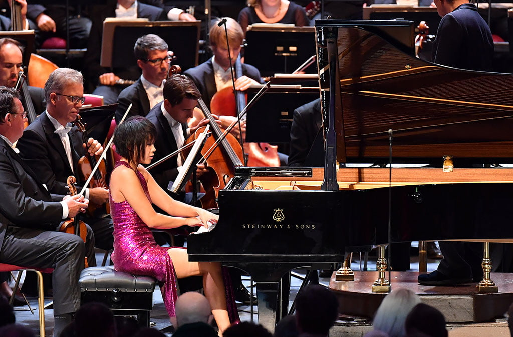 BBC Proms 2019's Prom 63Myung-Whun Chung conducts & Yuja Wang plays Rachmaninov with Staatskapelle DresdenPhotograph: Chris Christodoulou / BBC