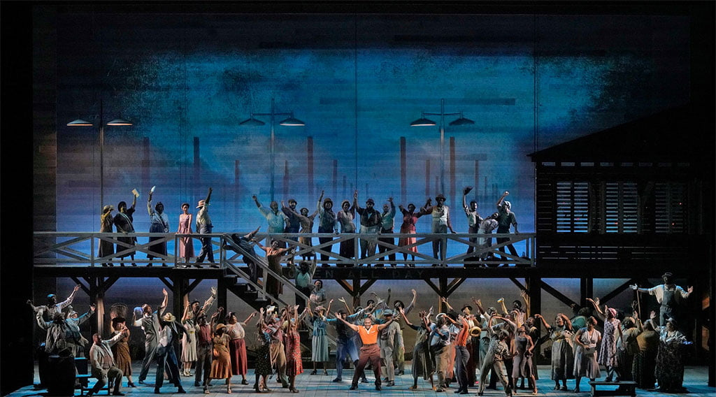 The Metropolitan Opera  – The Gershwins' Porgy and BessPhotograph: Ken Howard