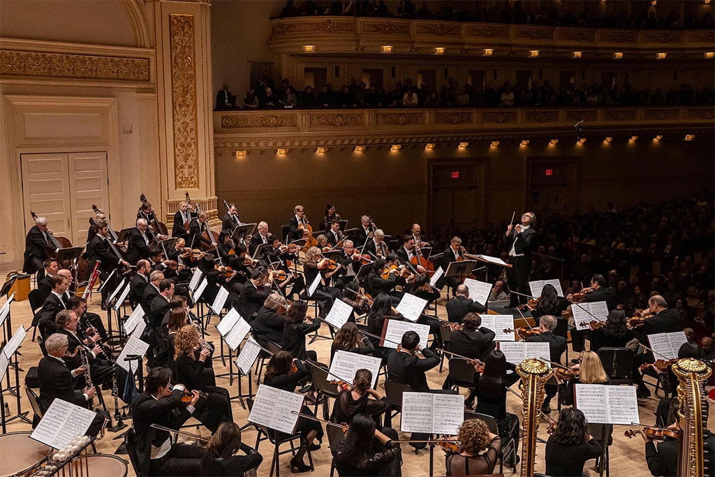 Riccardo Muti conducts Chicago Symphony Orchestra at Carnegie HallPhotograph: Todd Rosenberg