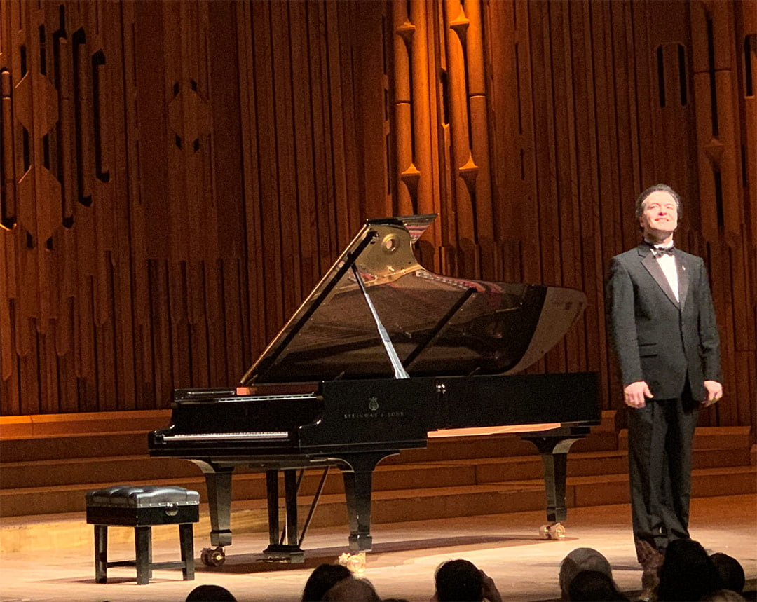 Evgeny Kissin in Barbican Centre's Hall, February 6th, 2020