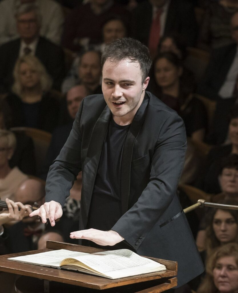 Ben Gernon. Credit: Petra Hajská/Czech Philharmonic