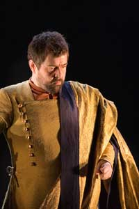 Paul Nilon as Tito. Photograph: Robert Workman and ENO