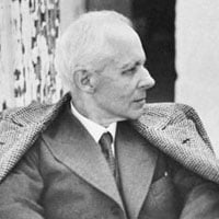 Béla Bartók (1881-1945), photographed by legendary conductor Fritz Reiner