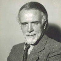 Hungarian composer Zoltán Kodály (1882-1967). Photograph: J. Warren Perry Collection