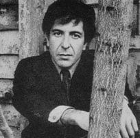 Leonard Norman Cohen (b1934) in 1969