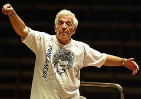 Vladimir Ashkenazy, Chief Conductor designate of the Sydney Symphony. Photograph: Robert Pearce