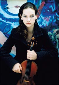 Hilary Hahn.  Photograph: Kasskara/DG