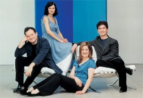 The Belcea Quartet. Photograph: Sheila Rock, EMI Classics