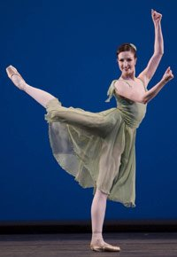 Lauren Cuthbertson in 'Dances at a Gathering'. ©Bill Cooper