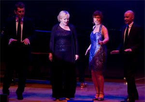 Graham Bickley, Maria Friedman, Mary Carewe and Daniel Evans