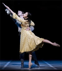 Romeo and Juliet. Photograph: Tristram Kenton