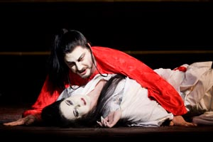 José Cura as Calaf & Iréne Theorin as Princess Turandot. ©Johan Perrson