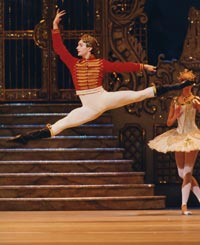 Ivan Putrov as The Prince. Photograph: Bill Cooper