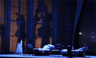 Richard Eyre's and the ROH's La Traviata. Photograph: Catherine Ashmore