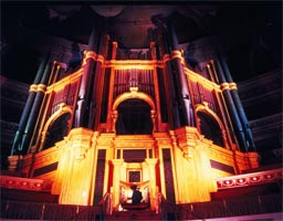 Royal Albert Hall organ. Photograph: Chris Christodoulou