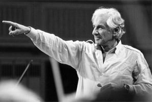 Leonard Bernstein.  Photograph: Christina Burton, courtesy The Leonard Bernstein Office, Inc