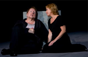 Ben Heppner as Tristan & Nina Stemme as Isolde. Photograph: Bill Cooper