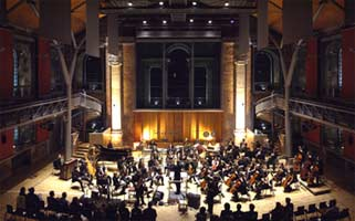 LCO at LSO St Luke's. Photograph: Peter Eason
