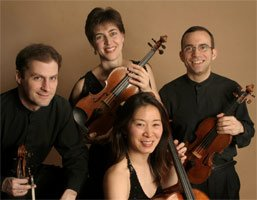 Brentano String Quartet. Photograph: Peter Schaff