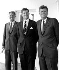 The Kennedy brothers (Robert, Edward & John)
