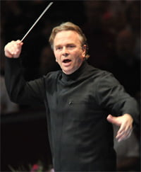Sir Mark Elder at the BBC Proms. Photograph: BBC/Chris Christodoulou